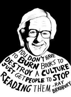 nodamncatnodamncradle:  raqqerss:  burning—bright:  R.I.P. Ray Bradbury August 22, 1920 — June 6, 2012   :(