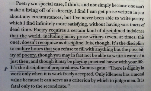 From Ambition and Survival: Becoming a Poet (Copper Canyon Press, 2007) by Christian Wiman