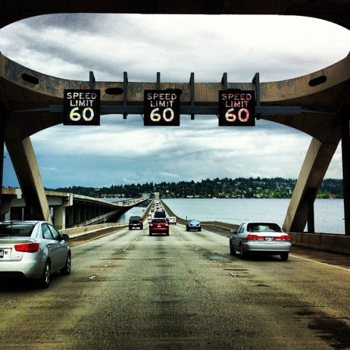 Speed limit 60.