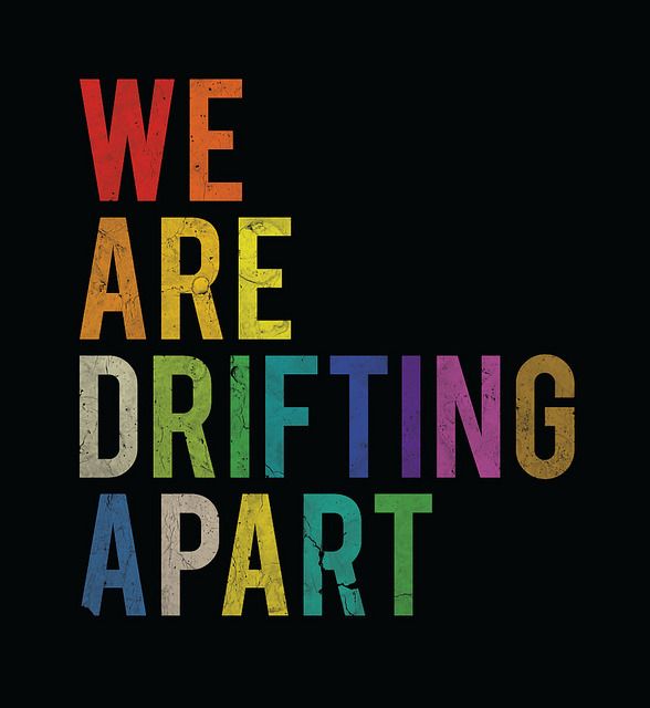 We are drifting apart by Jimena Gamio