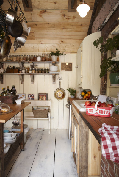 myidealhome:  rustic kitchen (via desire to inspire)