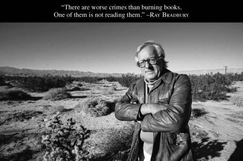 aaknopf:  Saddened by news of Ray Bradbury's passing. His books comprised some of the sterling moments in Knopf's publishing history. A brilliant author, a tireless advocate for books, and a big-hearted man.