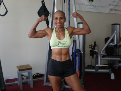 Name: Ernestine Shepherd Age: 75 Conclusion: Age is nothing but a number!