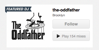 Check it out - I'm 8tracks' featured DJ today!
