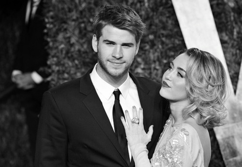 a tribute to miley & liam, who are now engaged! they are the cutest couple.