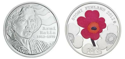 imago:  Armi Ratia and Industrial Art / Commemorative and collector coins / The Mint of Finland - Rahapaja