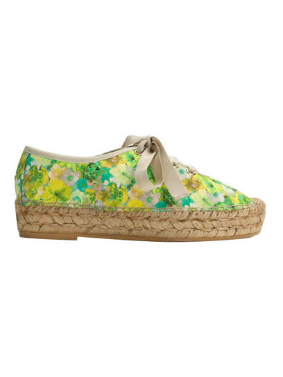 Punch up your summer look with bright and sunny extras, like these floral espadrille lace-ups from Belle by Sigerson Morrison. Check out more stylish buys here »