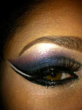 Make Up on The Corner- MAC Cosmetics This is what my cousin/make up artist/ace does when her kids are asleep and she's bored. I'm going to get her to do a tutorial for Aj's Corner. She's a MAC Artist and she so rocks. Look at how neat everything is. Amazeballs!!!!