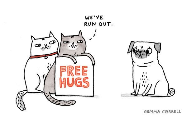 Comic by ©Gemma Correll