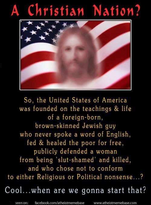 abaldwin360:  Unfortunately, a lot of republican voters see Jesus like this: