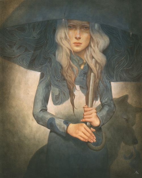 illozine:  untitled by  Tran Nguyen http://www.behance.net/trannguyen 平和