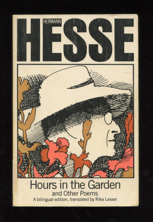 """Hours in the Garden and Other Poems"" by Hermann Hesse  (Cover designed by Milton Glaser)"