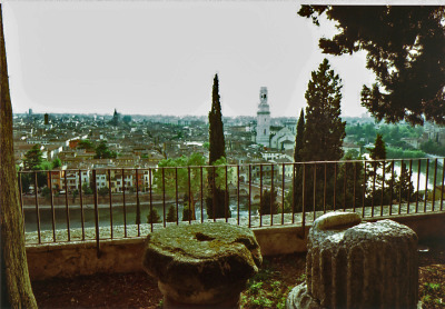 View from the Vecchio Anfiteatro, Verona, Italy (Voigtlander Bessa L, Kodacolor 200) (by schwigorphotos)