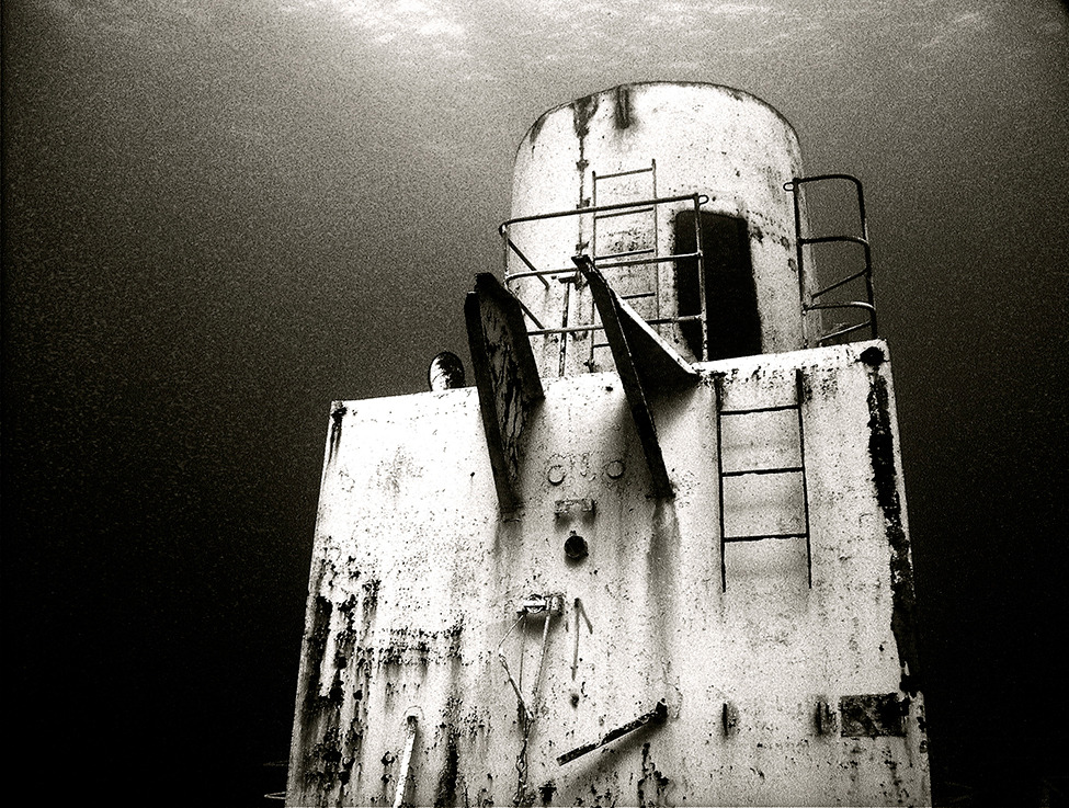 Photo of the Day: Taken during a wreck dive of the Vandenberg, an American WWII ship Photograph by Megan Costello (Oyster Bay, NY), Key West, Florida