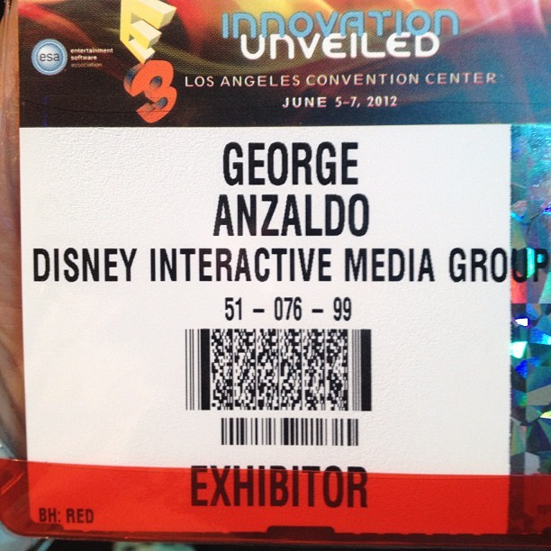Yeah buddy! #e3 #disney (Taken with instagram)