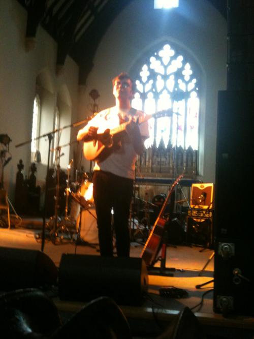 David McCaffery at St Stephens Church - Bushstock 2012