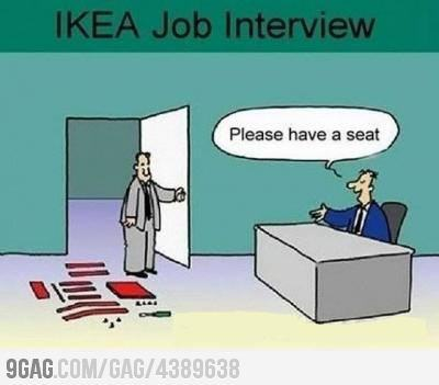 9gag:  Ikea interview