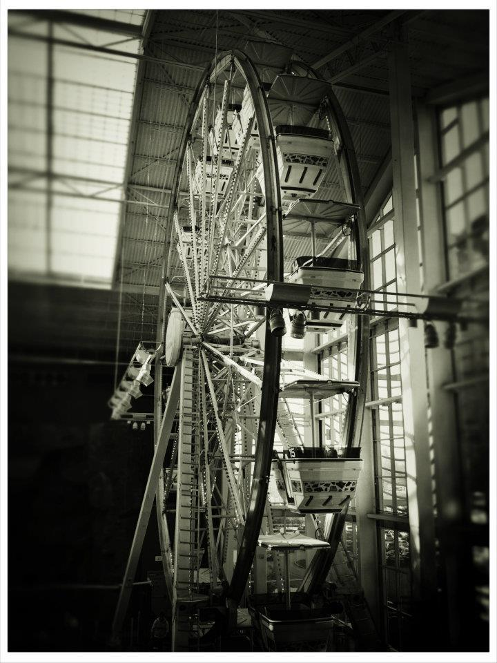 Lauren Goldberg,Ferris Wheel - Palisades Mall,2011