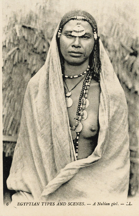 grand-bazaar:  1920s Egypt Nubian Woman