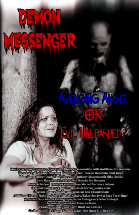 Support Original Horror Not Hollywood remakes! Demon Messenger, the 1st feature film from www.iamhorror.com is on sale now! Plz retweet, reblog & help spread the word!