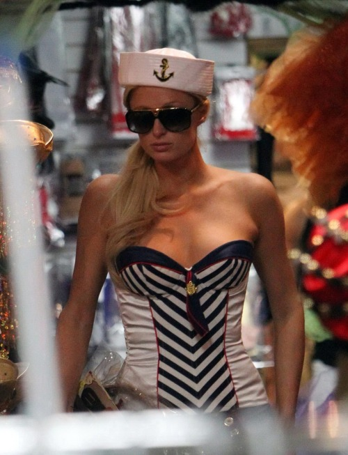 Paris Hilton trying on sexy sailor outfitfree nude picturesLink to photo & video: bit.ly/JhCuZZ