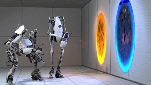 PS3 Will Get Special Portal 2 DLC, 360 Owners Need Not Apply So awhile back, a special motion-controlled Hydra controller got released that came with a motion-controlled level of Portal 2. Well, Valve are releasing that level on the PS3 later this year with support for the Playstation Move. You'll be able to manipulate objects in the environment using this special motion controller to solve the insane spatial puzzles. Unfortunately, XBox 360 owners will be left out with no DLC. I suppose the Kinect just isn't able to mimic the motion controls necessary to play.