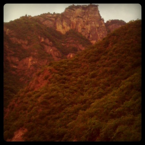 Climbed this today! Kongtong Mountain, Pingliang, Gansu, China (Taken with instagram)