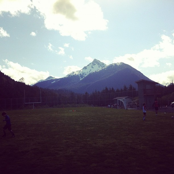 Mtn overlooking soccer camp (Taken with instagram)