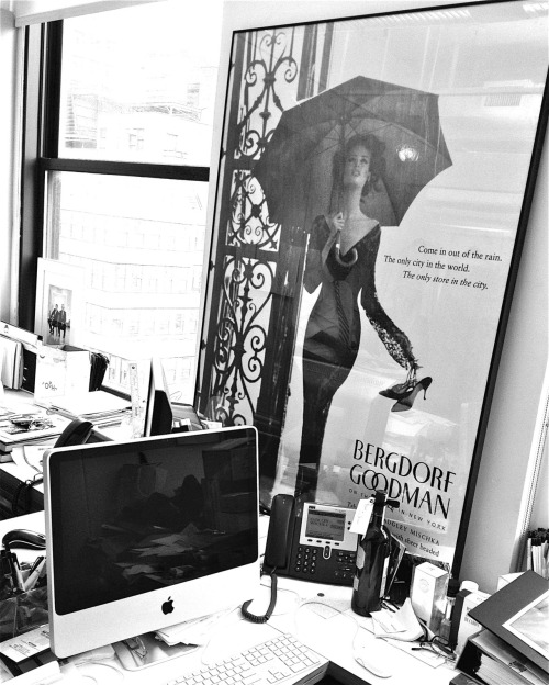 bergdorfgoodman:  In the offices of Badgley Mischka