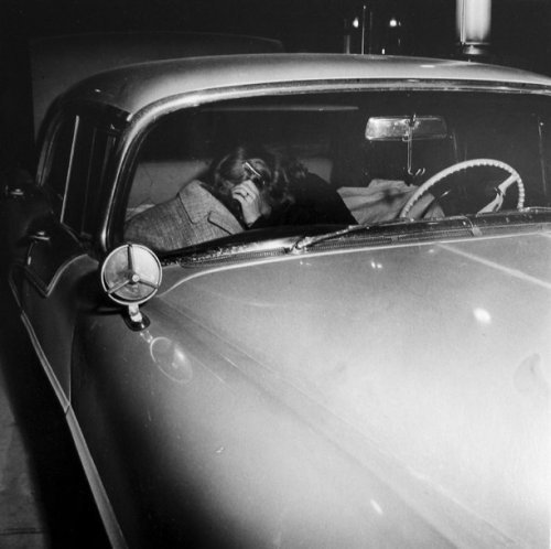 Woman in Car Stan Healy 2003