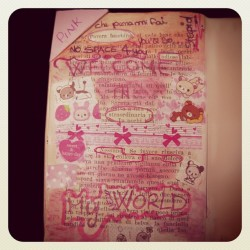 #book #collage #smashbook #journal #washi #tape #scrapbook  (Scattata con instagram)