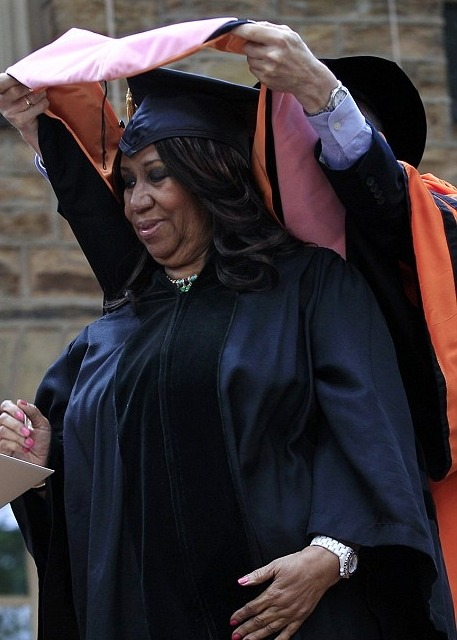 mayhement411:  Queen Of Soul Ms. Aretha Franklin receives a Doctorate In Music From Princeton University…Congrats Ms. Franklin! #SmartGirlz http://www.mayhem-entertainment.com/2012/06/aretha-franklin-receives-honorary.html