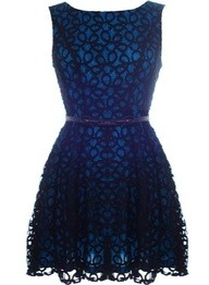 Coiled Lace Dress - classic and oh-so-pretty! -Cristina | http://bit.ly/NhPdMS