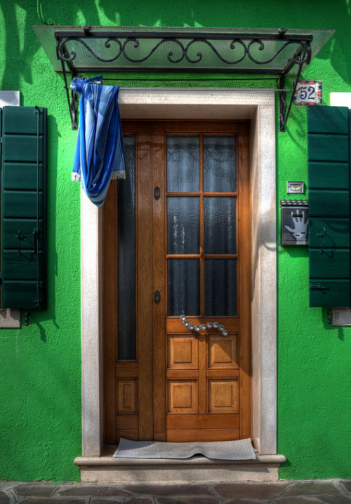 Old Italian Door. By  Joana Kruse