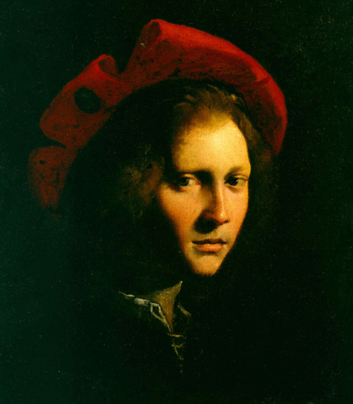 Girolamo da Carpi (Italian, 1501–1556), Young Man With a Red Cap , n.d.  Joslyn Art Museum