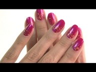 Nail How-To: The 18k Gold Indian Summer Nail #Nailspotting | http://bit.ly/JXgcfI