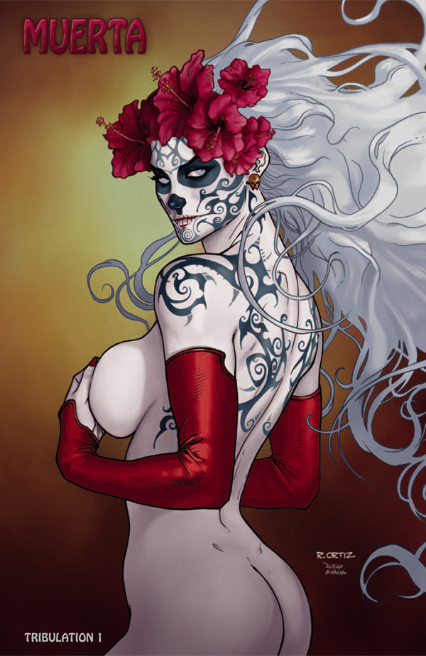 Lady Death: Tribulation #1 Muerta