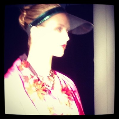 Miami influences #Lanvin #resort13 (Taken with instagram)