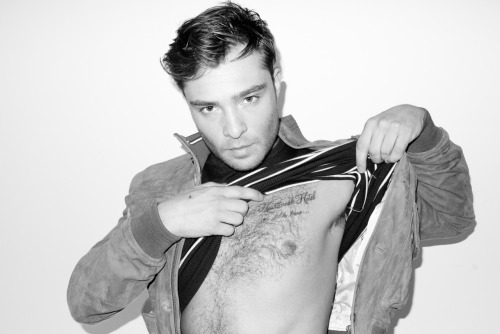 terrysdiary:  Ed Westwick at my studio #3