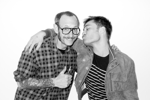 terrysdiary:  Me and Ed Westwick