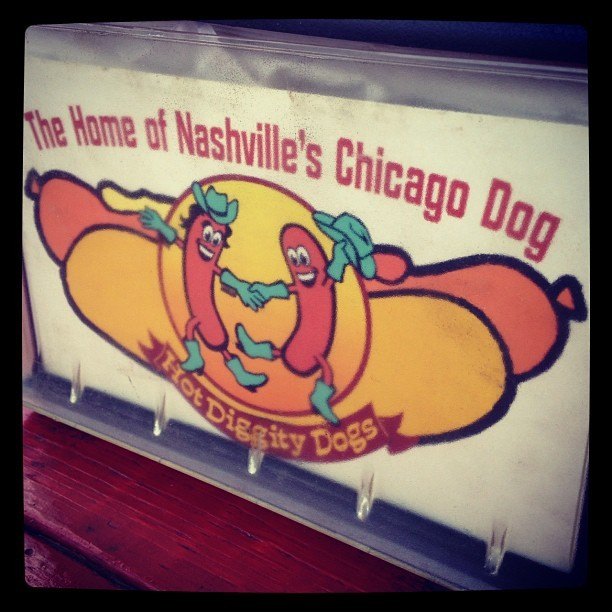 Some days you just got to (Taken with Instagram at Hot Diggity Dogs)