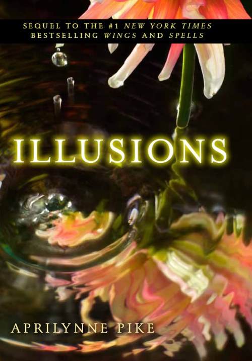 "Illusions (Wings #3) by Aprilynne Pike My Rating: 4/5 cups of coffee My Review:  ""But love is something that has to be as selfish as it is unselfish. You can't make yourself love someone because you feel like you should. Just wanting to love someone isn't enough.""   This was the third book of the Wings series. I think this book is not so good like the first 2 books. I mean this book was great but it's lacking of excitement and adventures. Maybe I just expect more from this book but I got disappointed, not really but maybe a little. The good thing about this book is the Love Triangle of Laurel, Tamani and David and that was exciting. I really can't guess who will be Laurel's choice, is it Tamani or David? But she loves them both but differently. I like David despite of his bad boy image when it comes to Tamani and I like Tamani more because he's very protective to Laurel and he really loves Laurel whatever happens.I get annoyed to Chelsea in this book because she's still in love with David. Is that what you called a friend? Anyway good thing Laurel understands and she didn't think of Chelsea differently because of what she's going to do after the winter dance, which is breaking up with Ryan because David is sad. Ugh! And Oh oh! Tamani got an iPhone. Lololololol! That's what I like about this book, faeries using iPhone. Oh, I forgot Yuki, the shy type unordinary girl and not to mention that she is a Winter Faerie. Oh my golly gushy gushy gosh! Well anyway at the end it was full of surprises and a damn cliff-hanger, so damn cliff-hanger. Overall, I like it but not like the first 2 books, just for the sake of the series. But I'm still in love with the characters and the story, this book just has it flaws but its fine, I'm still reading the last book, Destined. I'm just waiting for the paperback edition. I'm not into hardcovers. Lol~"