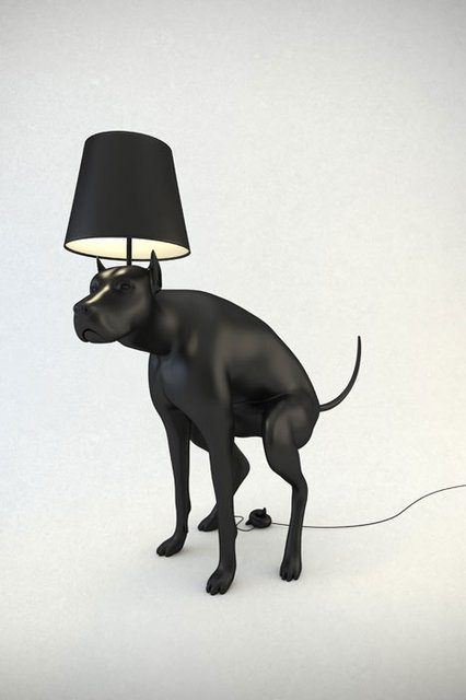 streetmarketstore:  Dog Lamp http://bit.ly/L3naxk
