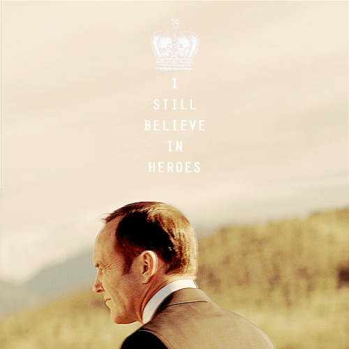 People will live up to expectations.  Maybe if there were more Coulsons in the world…