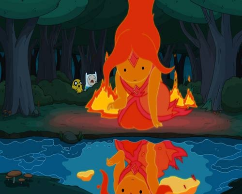 adventure-world-time:  Flame Princess is beautiful Simplemente perfecta!!!!!!!! no hay 2 igual @.@