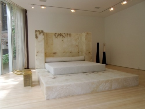 Rick Owens, Large Bed , 2010. Courtesy of Salon 94.