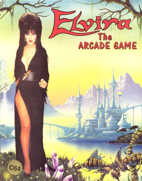 Elvira: The Arcade Game, Commodore 64.