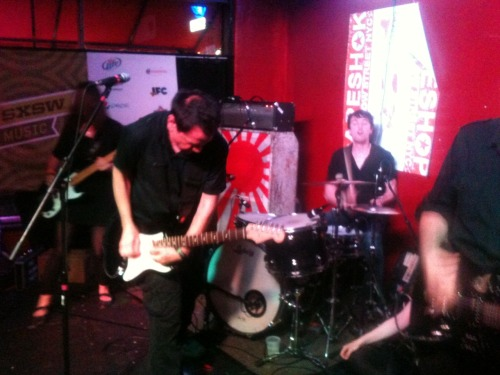The Wedding Present's last song at our SXSW showcase from March 2012!