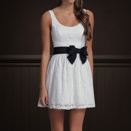 So I said I was going to buy this dress and I have. It is super cute!