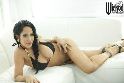 "Octomom Nadya Suleman will not be stripping at a strip club as previously planned. She is, however, doing a ""solo"" porn movie for the company Wicked Pictures. This is the promo shot for it. It's coming out this month. One step forward, two steps back."